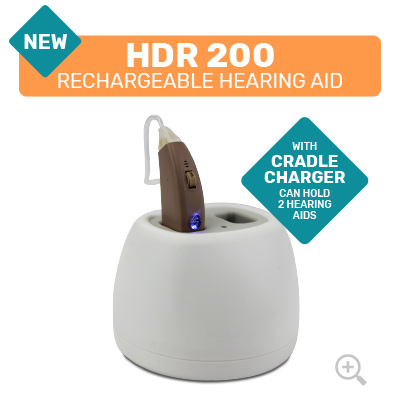 HDR 200 Rechargeable Digital Hearing Aid