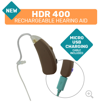 HDR 400 Rechargeable Digital Hearing Aid
